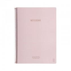 KOZO Notebook A4 Class, D.Pink