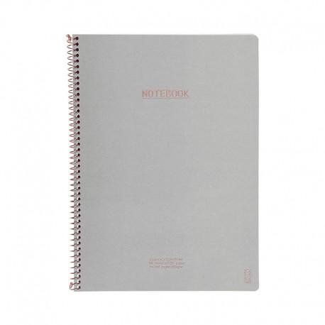 KOZO Notebook A4 Class, Grey