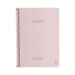 KOZO Notebook A5 Class, D.Pink
