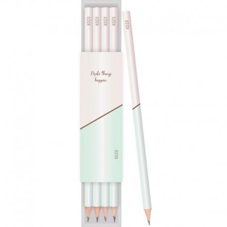 KOZO Pencils 4-Pack, Ash Green