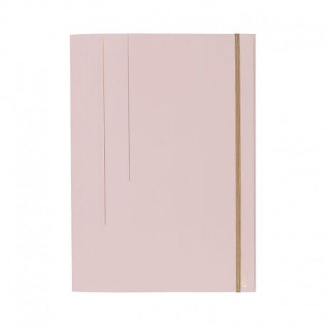 KOZO 3 Flap Folder A4, D.Pink