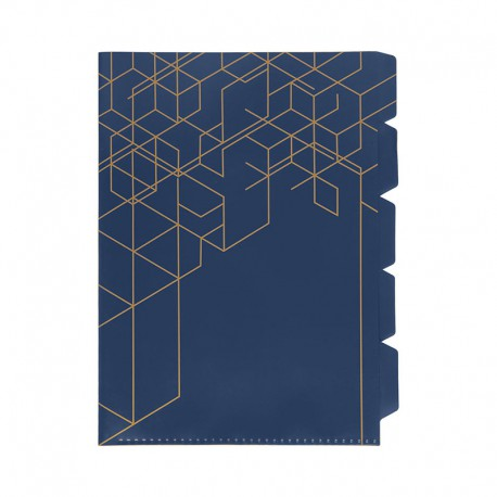 KOZO Index File A4, Navy