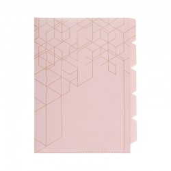KOZO Index File A4, Dusty Pink