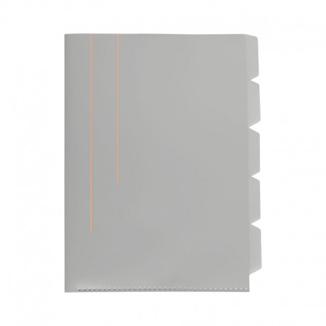 KOZO Index File A4, Grey