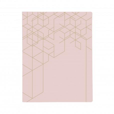KOZO Binder SE A4, Dusty Pink