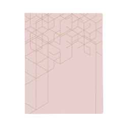 KOZO Binder EU A4, Dusty Pink