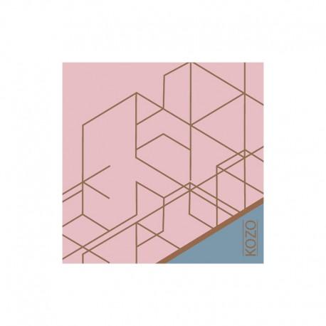 KOZO Sticky notes Pink/Blue