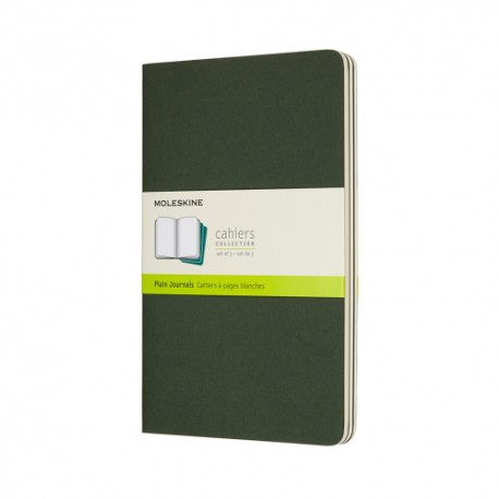 Cahier Journal P, L, Green