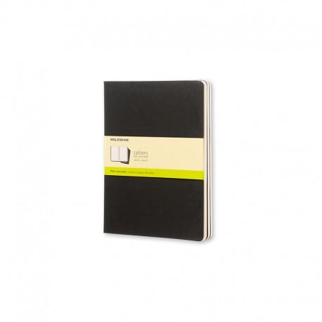 Cahier Journal P, XL, Black