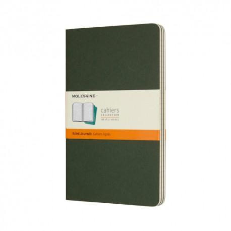 Cahier Journal R, L, Green