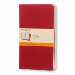 Cahier Journal R, L, Red