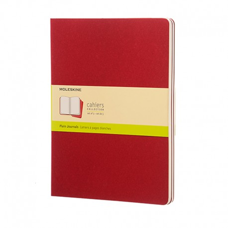 Cahier Journal P, XL, Red
