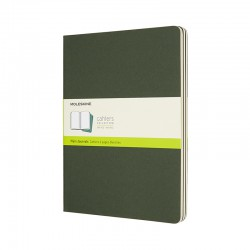 Cahier Journal P, XL, Green