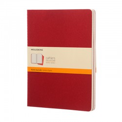 Cahier Journal R, XL, Red