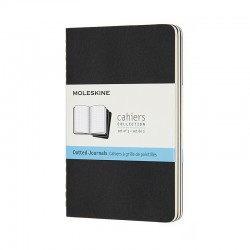 Cahier Journal D, Pkt, Black