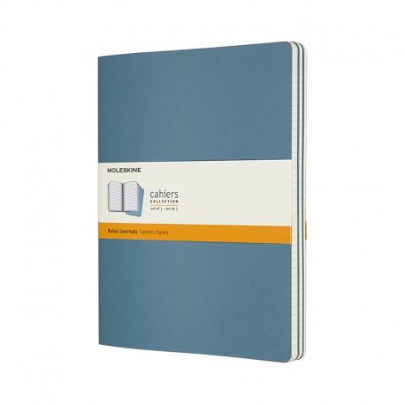 Cahier Journal R,XL, BriskBlue