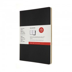 Cahier Subject A4, Blk/kraft