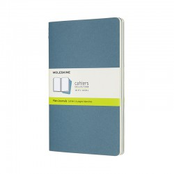 Cahier Journal P,L,BriskBlue