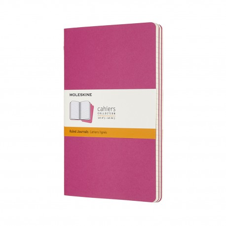 Cahier Journal, R, L, Pink