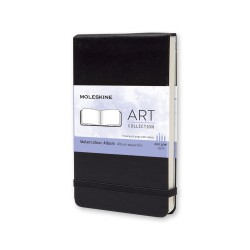 Art, Watercol. Alb, Pkt, Black