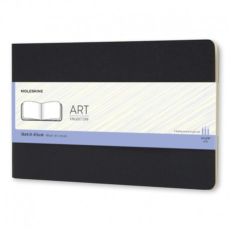 Art, Watercol. Alb, A3, Black