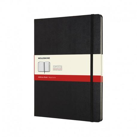 Adress book, XL, Black