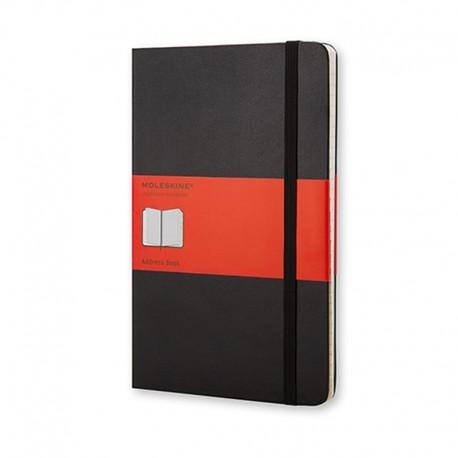Adress book, Pkt, Black