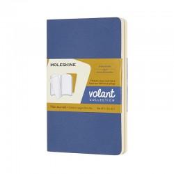 Volant Journals P,Pkt, Blu/Yel