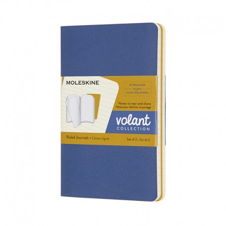 Volant Journals R,Pkt, Blu/Yel