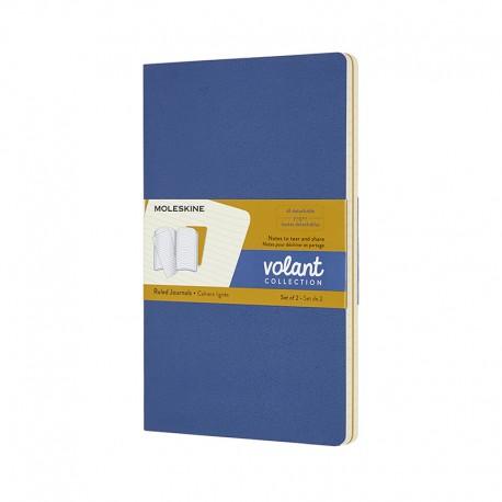 Volant Journals R, L, Blu/Yel