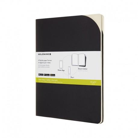 M+ Paper Tab cahier P, XL, Blk